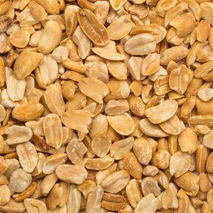 Close up of peanuts organic.