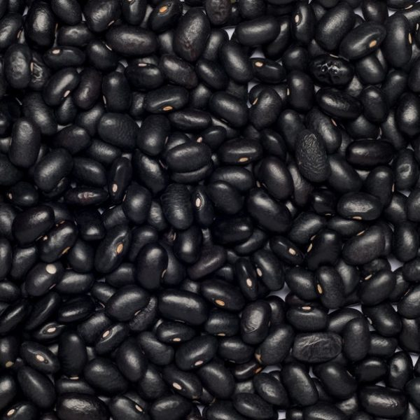 close up of Black Beans Organic