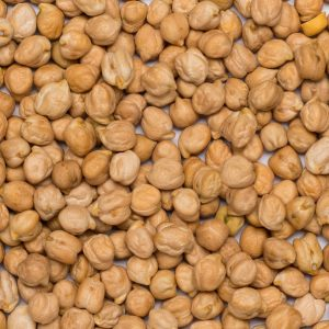 close up of Chickpeas Organic