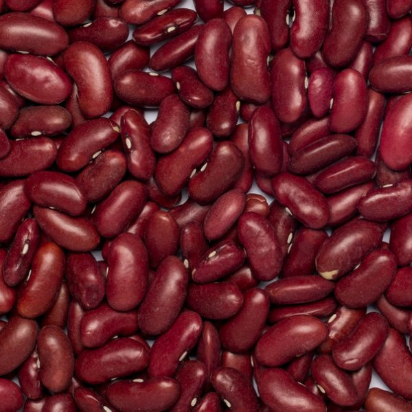 close up of Kidney Beans Red Organic