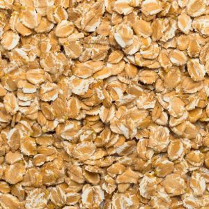 close up of Spelt Flakes Organic