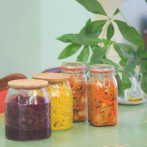Ferments, Sauer Kraut, Kimchi